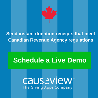 Learn about instant, compliant Canadian tax receipting with Causeview